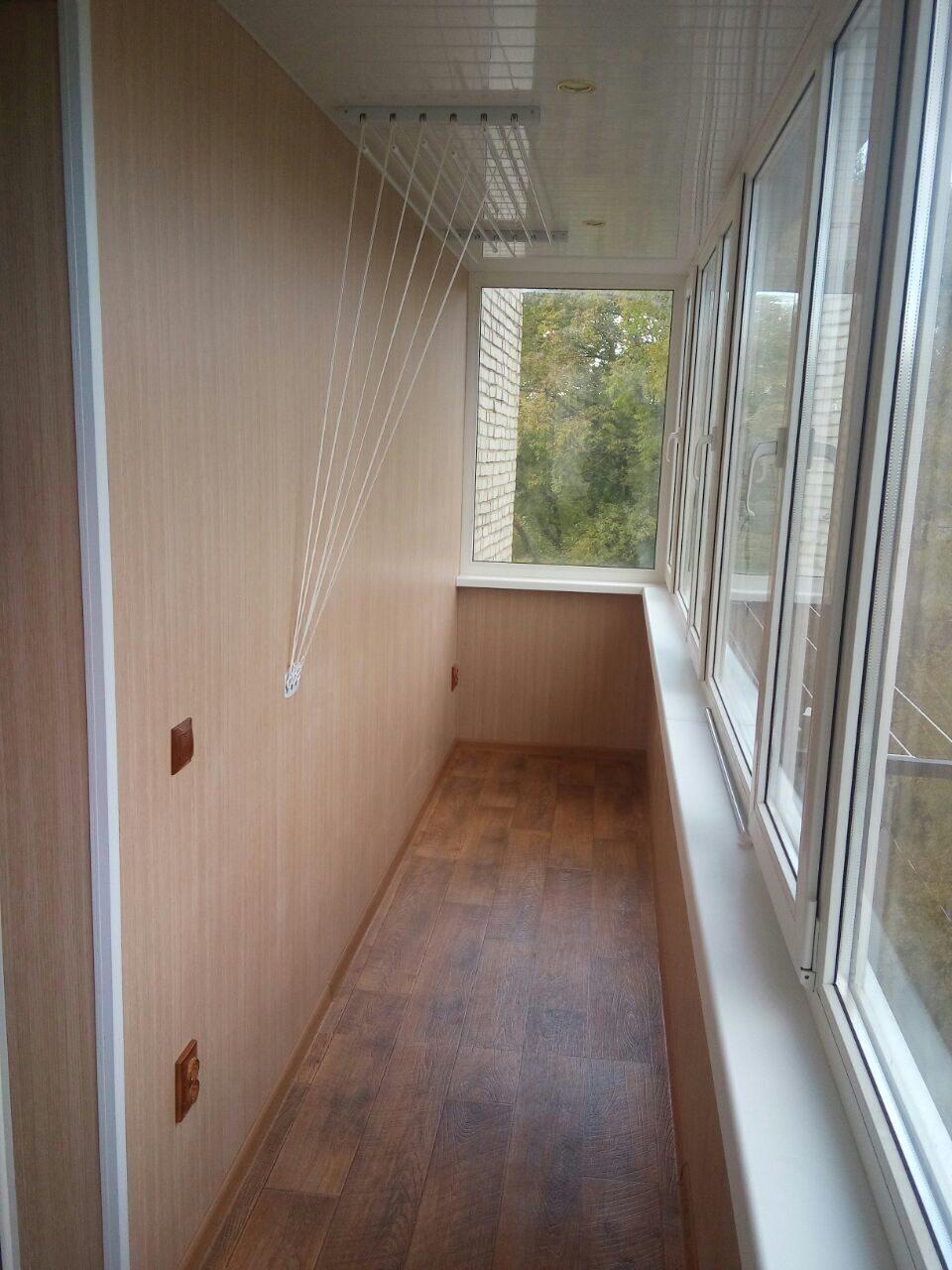 Внутренняя отделка балкона 6м фотогалерея компании профиль.